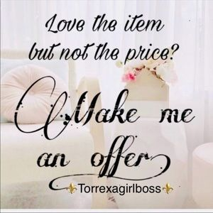 Love the item! ❤️ send me a reasonable offer!